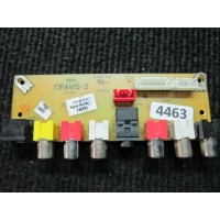 17FAV15-2 / HITACHI L32H01E - RCA BOARD