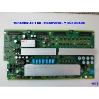 TNPA3992 AC 1 SC - TH-50PZ70B - Y_SUS BOARD