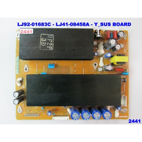 LJ92-01683C - LJ41-08458A  PS50C430A1 - Y_MAIN BOARD