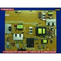715G5246-P01-000-002H - 47PFL4007H/12 - 42PFL3207H/12 -  FONTE DE ALIMENTAÇÃO