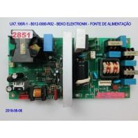 UX7.195R-1 - B012-0080-R02 - BEKO ELEKTRONIK - FONTE DE ALIMENTAÇÃO