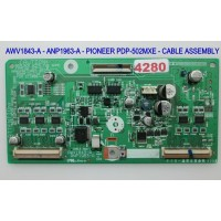 AWV1843-A - ANP1963-A - PIONEER PDP-502MXE - CABLE ASSEMBLY